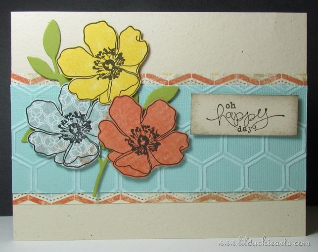 Happy Day Flowers Card