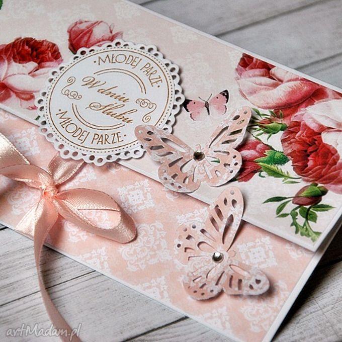 Młodej Parze - kartka ślubna. $5