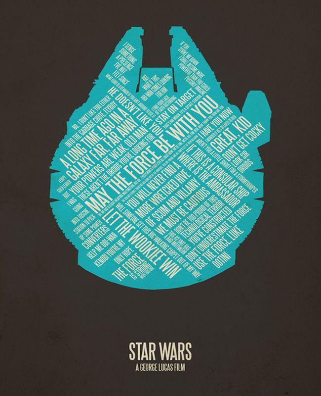 star wars - millenium falcon: Movie Posters, Stuff, Stars, Quote, Movies, Star Wars, Starwars