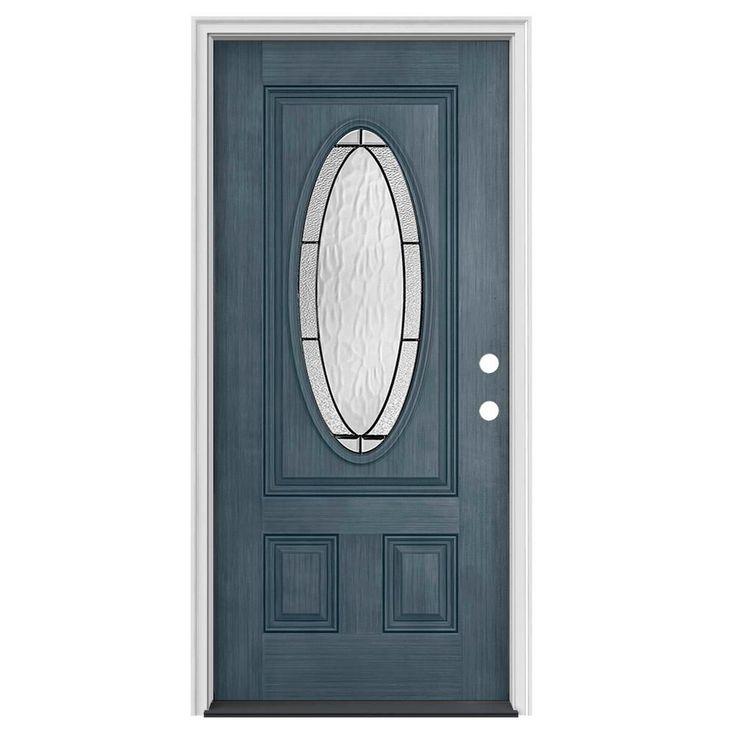 Jeldwen statement collection fiberglass prehung door