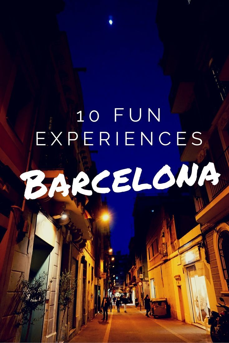 10 fun experiences you can have in Barcelona that the guidebooks don't tell you about