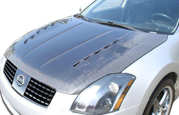 2004-2006 Nissan Maxima Duraflex GT-R Hood - 1 Piece