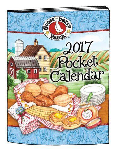 2017 Gooseberry Patch Pocket Calendar