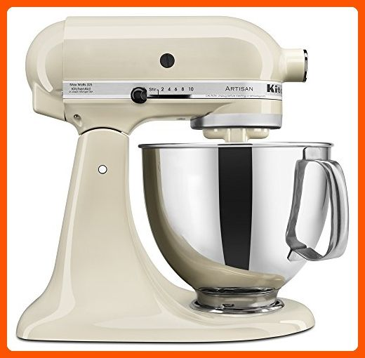 KitchenAid KSM150PSAC Artisan Series 5-Qt. Stand Mixer with Pouring Shield - Almond Cream - Kitchen gadgets (*Amazon Partner-Link)