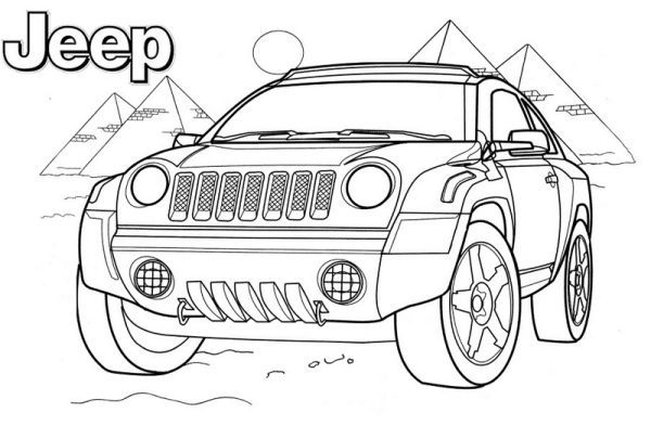 27+ Sheep in a jeep coloring page free download