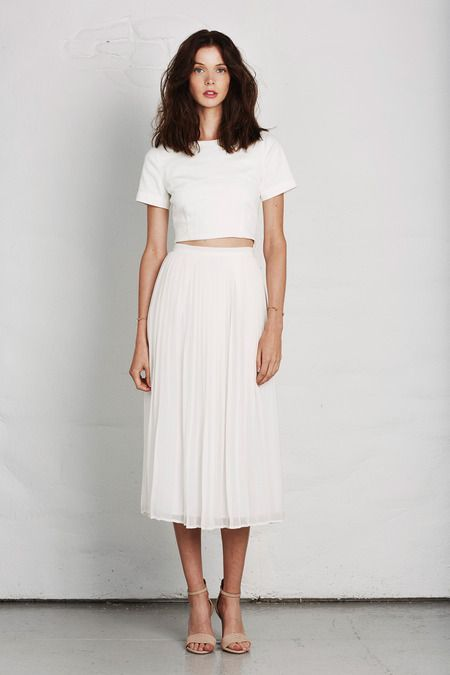 25  best ideas about White midi skirt on Pinterest | Midi skirt ...