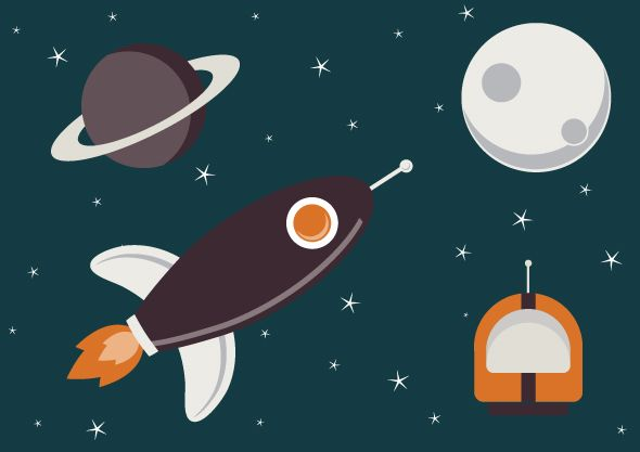 Space Vectors on Behance