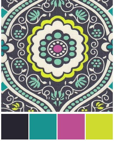 I like the color scheme in this picture because it has a cool design involved and some eye catching color.