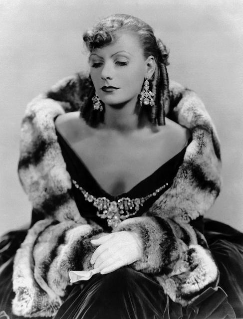 """Greta Garbo in the 1930 film """"Romance."""""""
