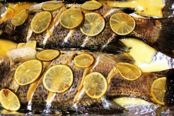 ♥ Baked / Steamed Australian Barramundi - A gift for your healthy heart from Australia // Cook Up A Passion