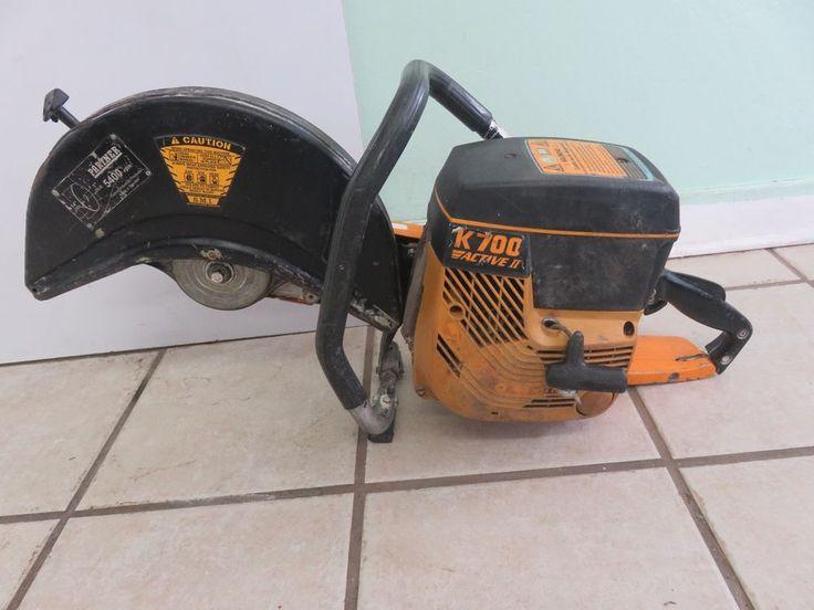 Partner K700 Active II Concrete Saw Handheld Gas Engine Cutter Chop Power Saw #Partner