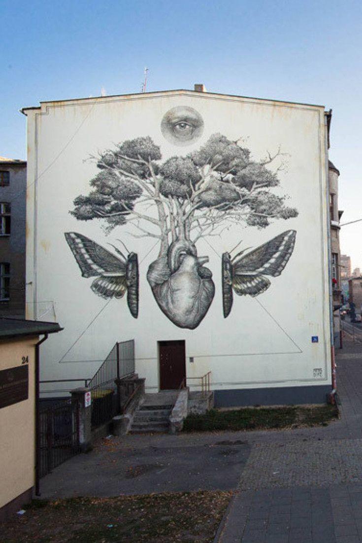 A Tidal Wave of Lodz Reborn: 'Lodz Murals' Distinguishes a Polish City