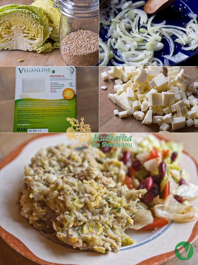 Pohanku v podobné úpravě mám velmi ráda. Ať už ji uděláte se špenátem, houbami, cibulí, kapustou se sýrem nebo bez, se zeleninovou směsí a p...