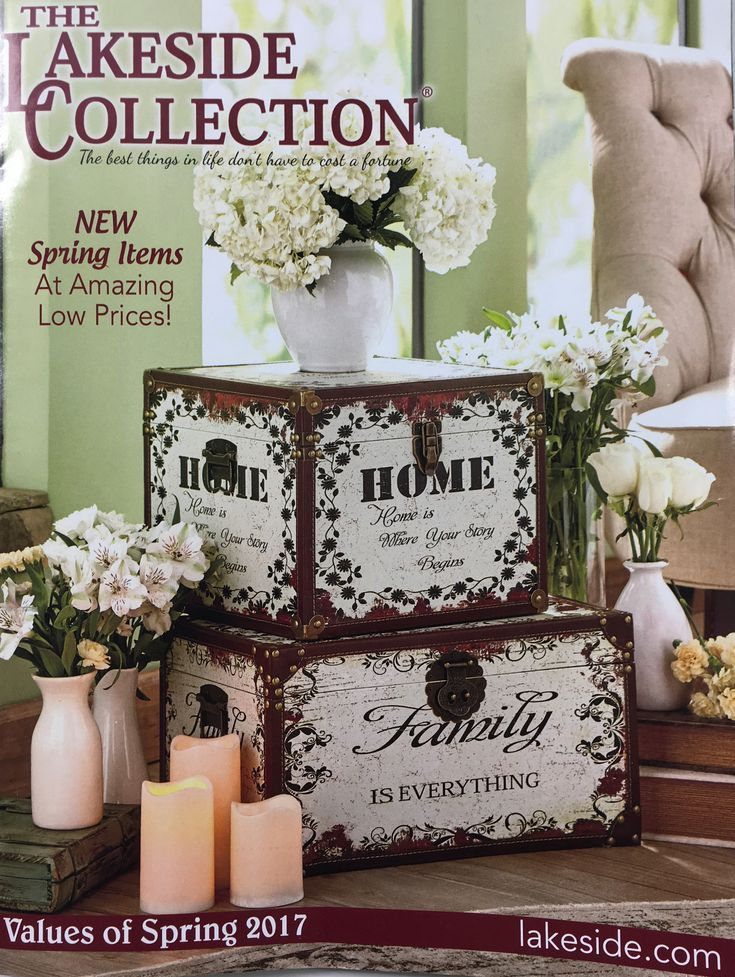 13 Free Gift Catalogs That Come In the Mail: The Lakeside Collection Gift Catalog