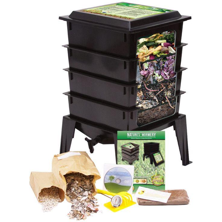 Maskkompost - kompostering inne eller ute