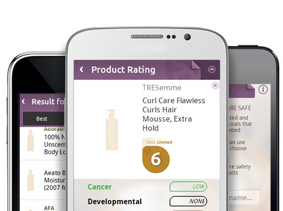 Skin Deep Mobile App. A must have when purchasing safe products for yourself. I use it when I'm out and wanting to know how safe it is before I purchase it.