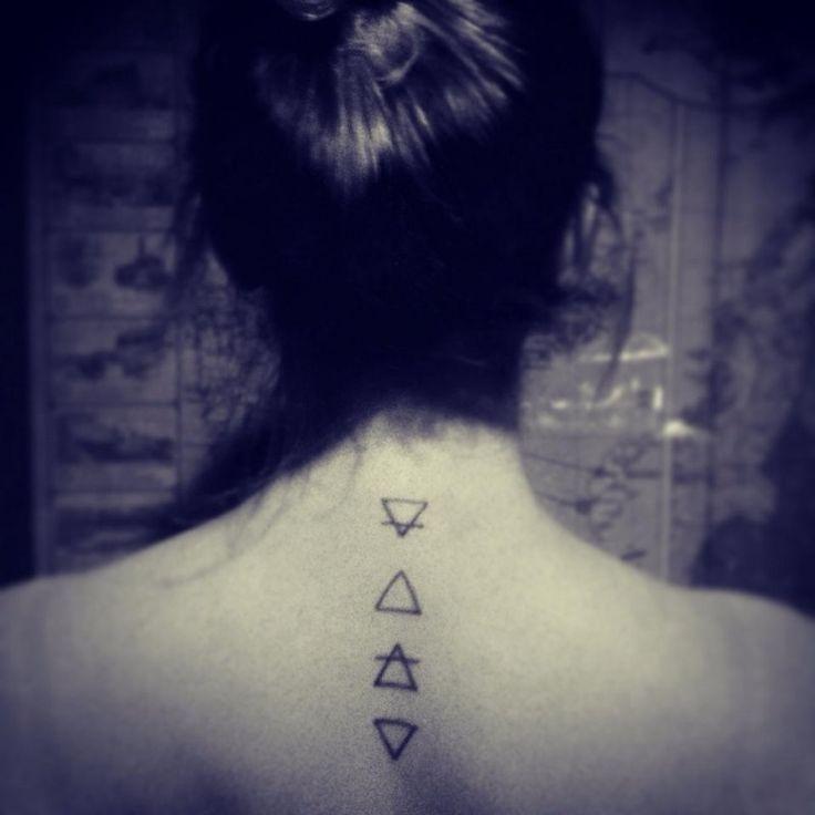 Wind Element Tattoo