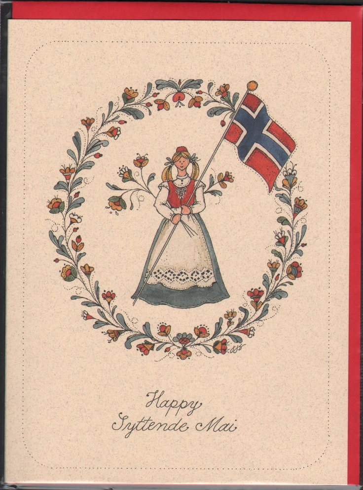 Norwegian Independence Day - Syttende Mai Card