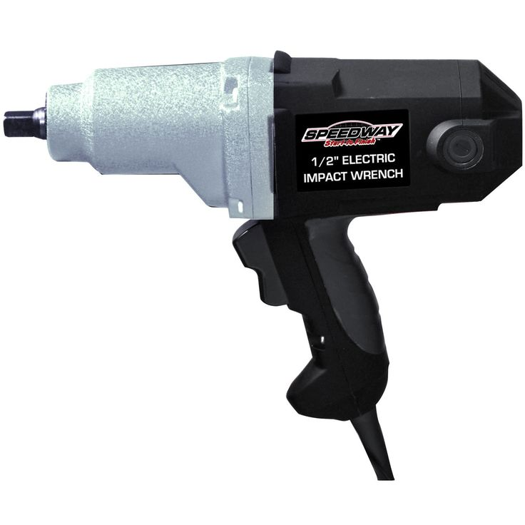 Speedway 1/2-inch Electric Impact Wrench