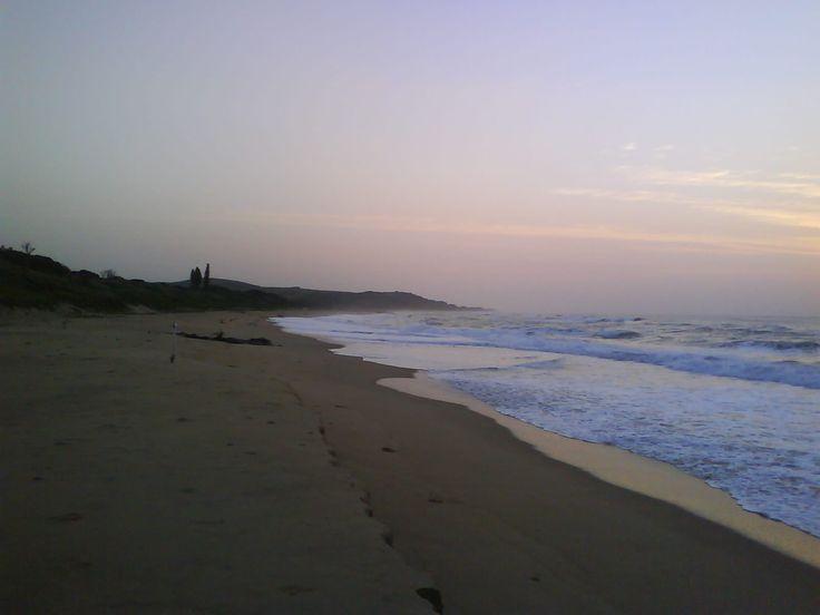 Scottburgh Beach - looking North