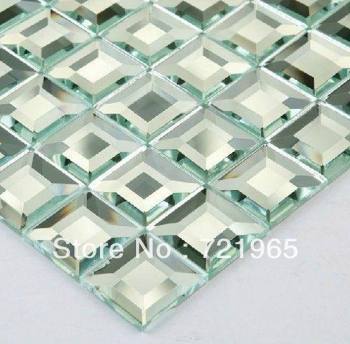 Aliexpress.com : Buy Mirror glass mosaic kitchen