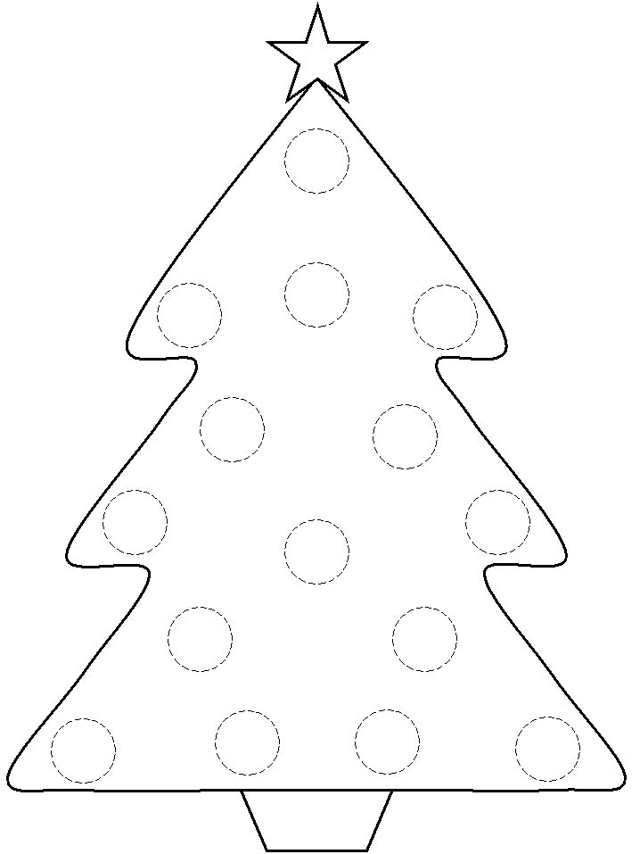 Bingo Dauber Coloring Pages Christmas