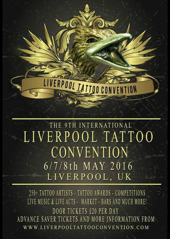 9e Liverpool Tattoo Convention 7 au 8 mai 2016