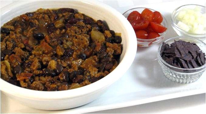 Skinny Turkey Chili with Weight Watchers Points | Skinny Kitchen