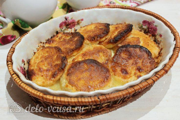 Сырники со #сметаной в духовке #сырники  #рецепты #деловкуса #готовимсделовкуса