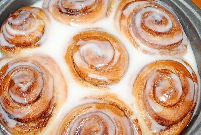 Cinnamon Rolls...and menu planning - Shugary Sweets