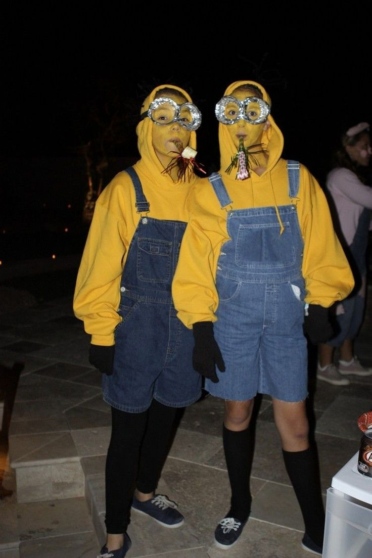 Minions, Costumes, Halloween I Karneval, Fasching, Kostüm, Verkleidung