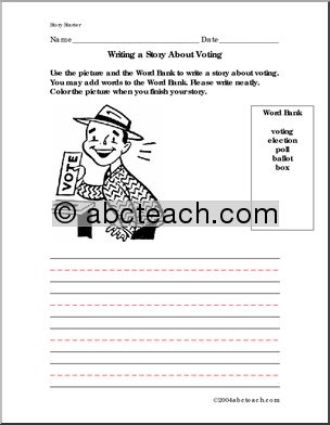election 2012 lesson plans elementary | just b.CAUSE