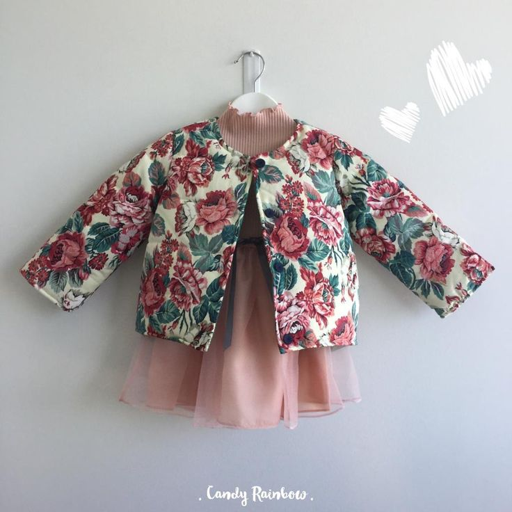{Floral Coat} Autumn/Winter look - Absolutely adorable for the little ones