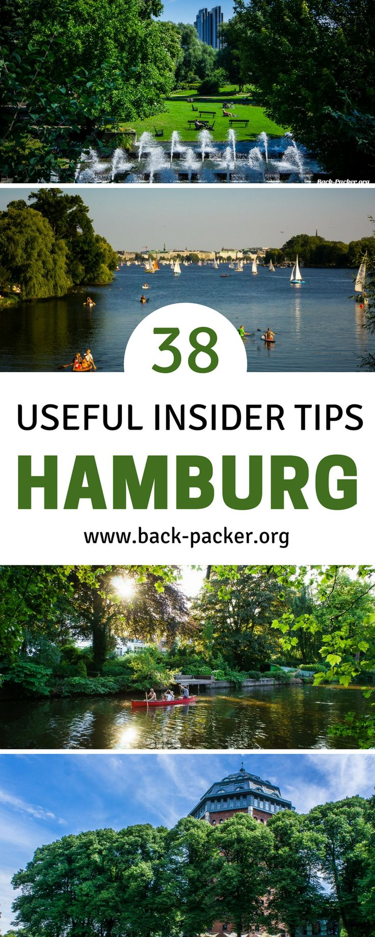 38 insider tips for exploring Hamburg, Germany, as told by a local. Best things to do, top restaurants, food and nightlife, and hotel and hostel options. Travel in Europe. | Back-Packer.org #Hamburg #Germany