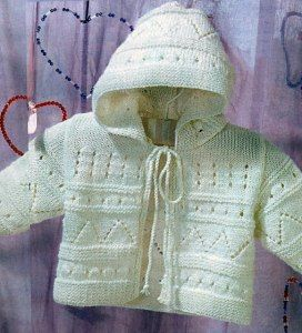 knitting baby jacket | make handmade, crochet, craft