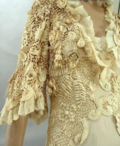Sonhos em linhas e crochê. This is martha-juliane creation from brasil.  Beautiful!