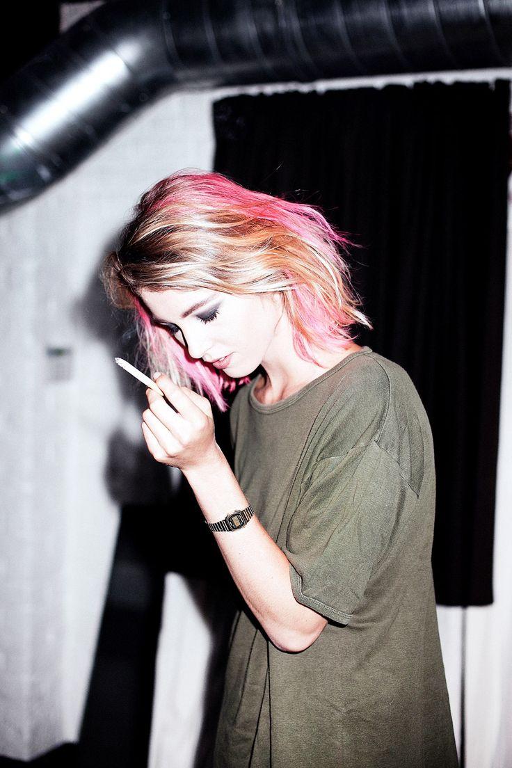 Pinked.