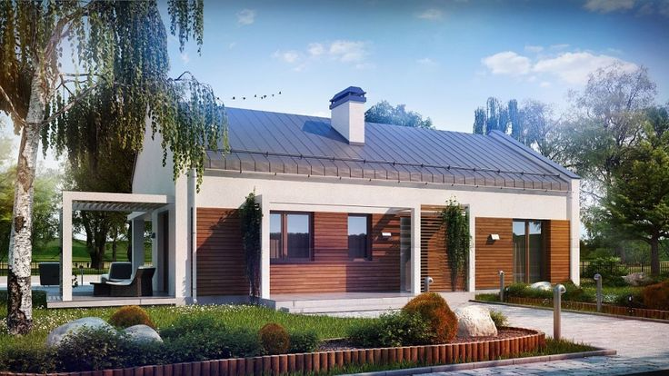 Z258, To zgrabny i wygodny dom zaprojektowany w duchu nowoczesnej prostoty.