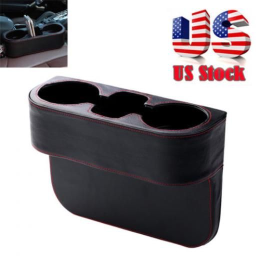 Car Seat Seam Wedge Storage Organizer Cup Holder Bottle Drink Phone Mount Stand Chbx171-usus Left Right Front Rear As Like Picture Shown 1 Year Keeps Hard To Reach Areas Clean
