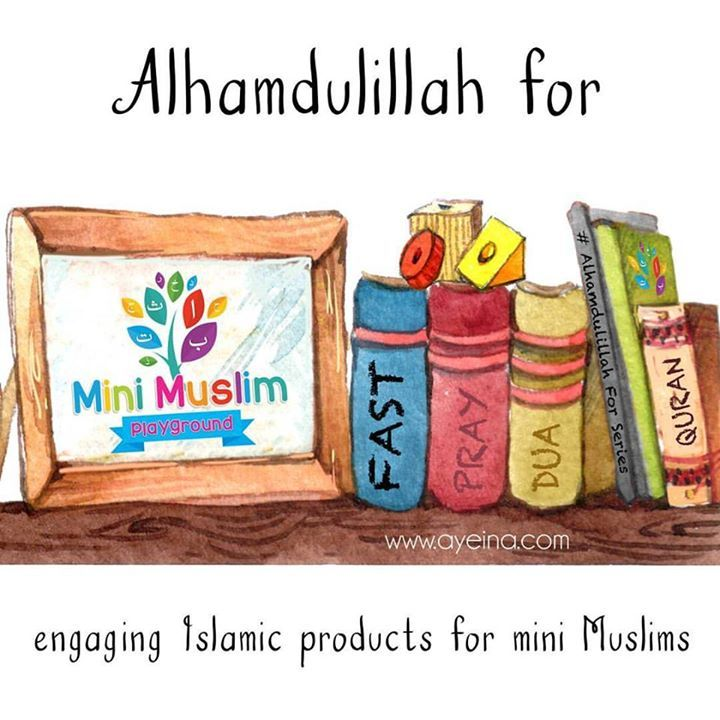 161: Alhamdulillah for engaging Islamic products for mini Muslims. #AlhamdulillahForSeries  . . Caption by @minimuslimplayground - UK based Islamic store for #minimuslims - Go check them out. In love with their site design done by @muslimbusinessmarketing Hint: In shaa Allah they'll also be a part of our upcoming #GratitudeCaptionContest  go visit the shop and let us know what you'd like to receive from them as a prize :D . . As kids grow you really understand the true worth of Islamic…
