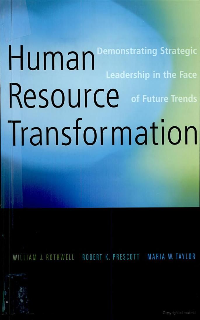 human resources case 62 Human relations the romance of human resource management and business performance, and the case for big science toby.