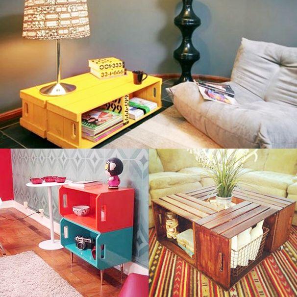 decoração de casa com caixotes