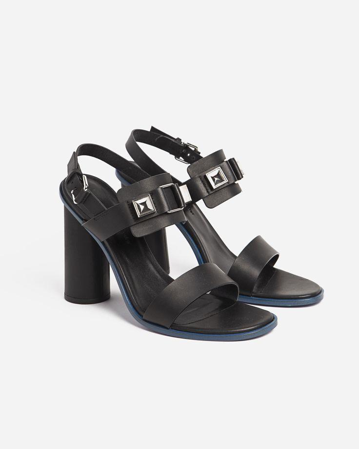 Proenza Schouler Heel Sandal w PS 11 Detailing
