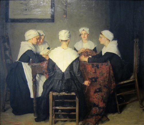 Vijf weesmeisjes uit het R.C. Maagdenhuis   Berthi's Weblog #wees #katholiek #Amsterdam