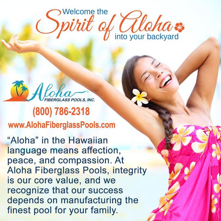 12 Best Aloha Facts Images On Pinterest Fiberglass Pools