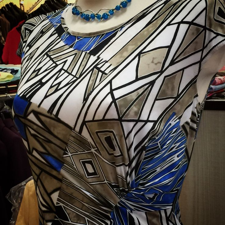 Artystyczna sukienka Witraż #szczecin #margofashion