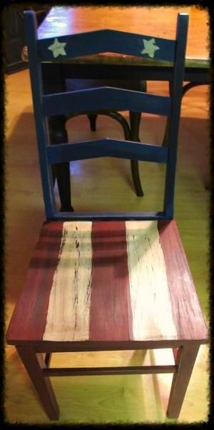 Americana chair by Cynthia Pilgrim Holder jEGmS