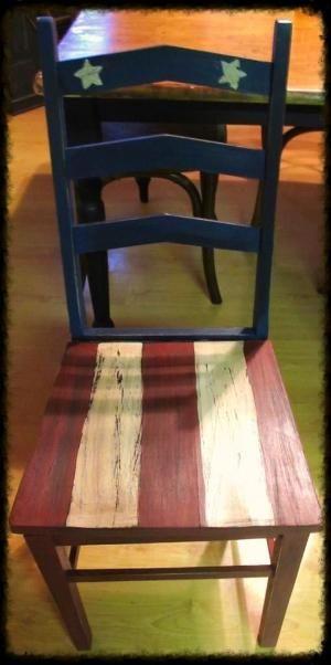 Americana chair by Cynthia Pilgrim Holder jEGmS