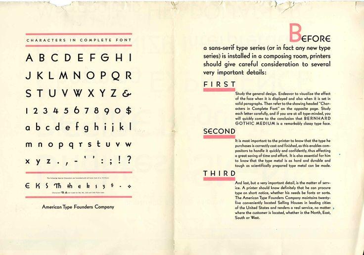 Lucian Bernhard Type Design on Speed - Print Magazine