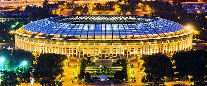 Luzhniki Stadium Is The Venue Of The Final Of The 2018 Fifa World Cup World Cup Football Stadiums World